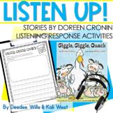 Listening Center: Listen UP!  | Doreen Cronin Series