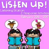 Listening Center: Listen UP! February 2016-2017 K and 1st