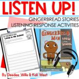 Listening Center: Listen UP!  | Gingerbread Stories