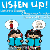 Listening Center: Listen UP! January 2016-2017 K and 1st