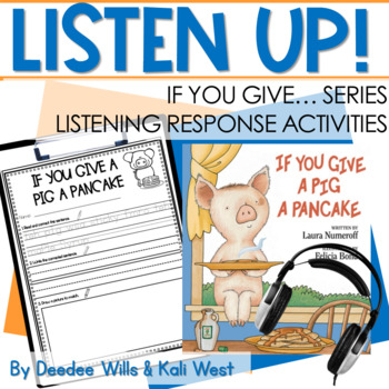 Listening Center: Listen UP!  Laura Numeroff Series