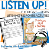 Listening Center: Listen UP!  Laura Numeroff Series