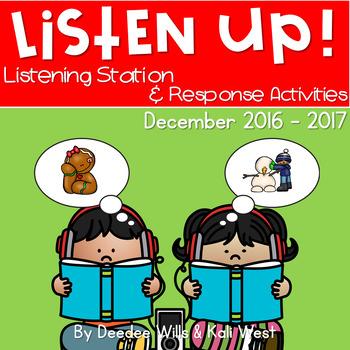 Listening Center: Listen UP! December 2016-2017 K and 1st