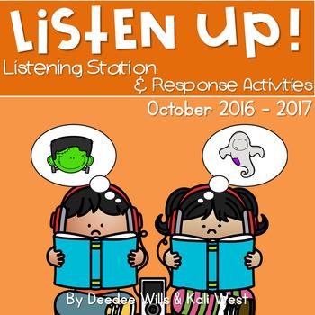 Listening Center: Listen UP! Octobr 2016-2017 K and 1st