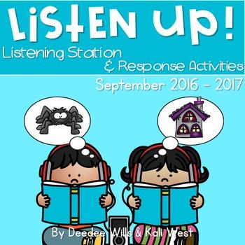 Listening Center: Listen UP!  September 2016-2017 K and 1st