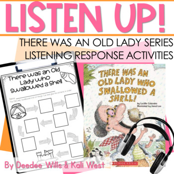 Listening Center: Listen UP!  There Was an Old Lady Series