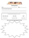 Listening Center Log Worksheet