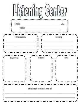 Listening Center Paper