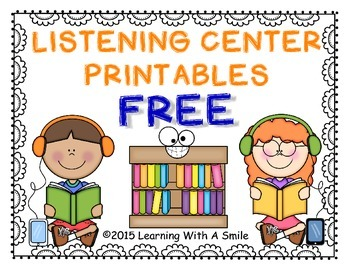 Listening Center Sheets  FREE (Simple)