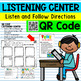 Listening Center QR Code Following Directions