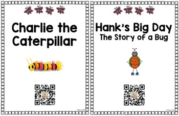 Listening Center QR Code Read-Alouds - May