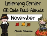 Listening Center QR Code Read-Alouds - November