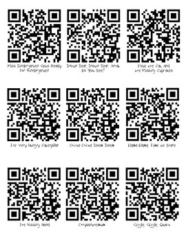 Listening Center QR Codes for August and September