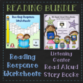 Read Aloud Books | Reading Response Worksheet | Distance Learning