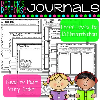 Reader's Response Journal - For Listening Center and Comprehension
