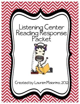 Listening Center Reading Response Packet