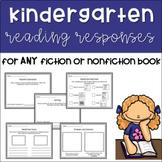 Kindergarten Reading Responses