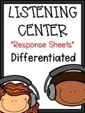 First Grade Reading: Listening Center Reports