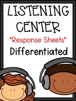 First Grade Reading: Listening Center Reports