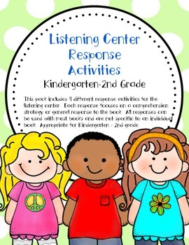 Listening Center Response Activities