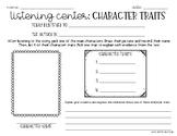 Listening Center Response: Character Traits