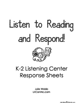 Listening Center Response Ideas
