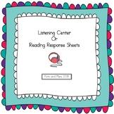 Listening Center Response Sheets