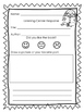 Listening Center Response Sheets Dual Language English and Spanish