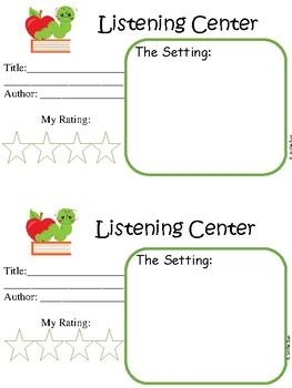 Listening Center Responses