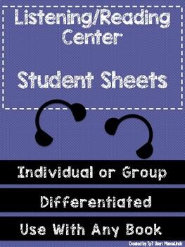 Listening Center Student Sheets- FREEBIE!