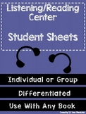 Listening Center Student Sheets- FREEBIE!