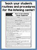 Listening Center Supplementary Materials for Second Grade