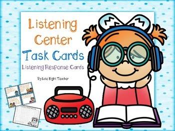 Listening Center Task Cards