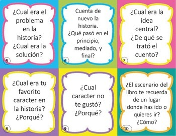 Listening Center Task Cards in SPANISH - EDITABLE - Daily 5 and Centers
