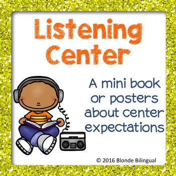 Listening Center mini book