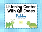 Listening Center with QR Codes {Fables}