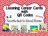 Listening Center with QR Codes {Favorite Back to School Stories}