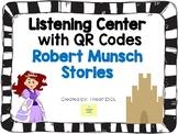 Listening Center with QR Codes {Robert Munsch Stories}