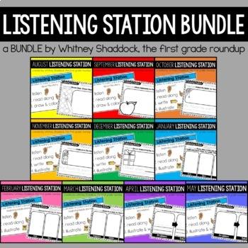Listening Centers GROWING BUNDLE for Kindergarten
