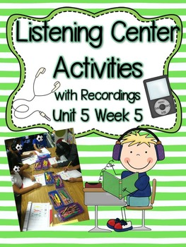 Listening Centers & Recordings (oi, oy words & sight words) Unit 5 Week 5