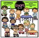 Listening Clip Art Bundle {Educlips Clipart}