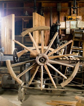 Listening Closely and Taking Notes:Colonial Trade Podcast about the Wheelwright
