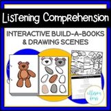 Following Directions Speech Therapy Interactive Books and Scenes