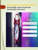 Listening Comprehension 7: Punctuality - How to Exercise P