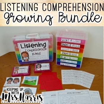 Listening Comprehension Activities - Bundle!
