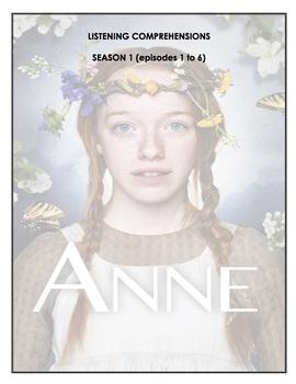Listening Comprehension - Anne with an E (season 1 bundle)