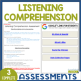 Listening Comprehension Assessments