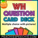 Listening Comprehension Card Deck - Multiple Choice