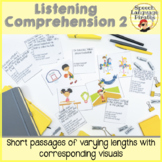 Listening Comprehension Scaffolded with Visuals: Part Two