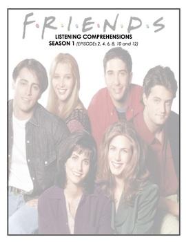 Listening Comprehensions - Friends - (Season 1 Bundle)